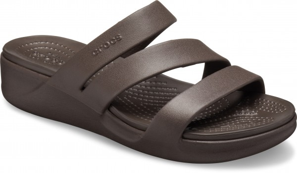 Monterey Wedge Women Espresso Croslite