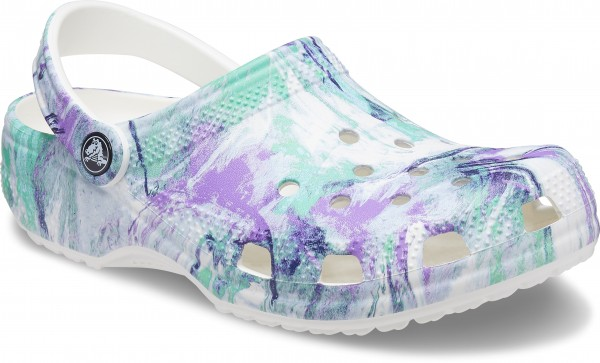 Classic Out Of This World Ii Clog Weiß / Multi Croslite