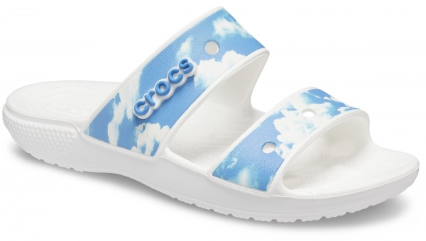 Classic Crocs Out Of This World Sandal Weiß Croslite
