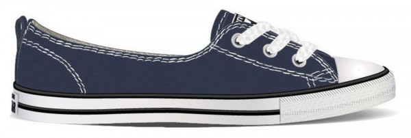 Chuck Taylor All Star Ballet Lace Navy Segeltuch