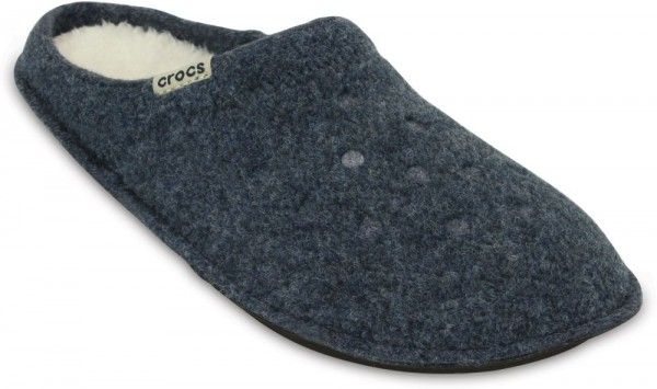 Classic Slipper Nautical Navy / Oatmeal Textil