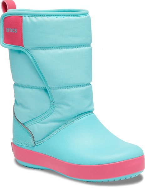 Lodgepoint Snow Boot Kids Ice Blau / Pool Croslite