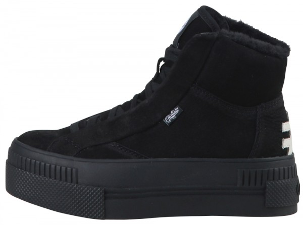 Paired Ph - Sneaker High Top - Schwarz Nubuk/Kunstleder