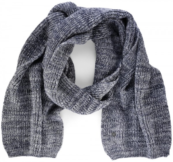 Fashion Multi Scarf Men Blau