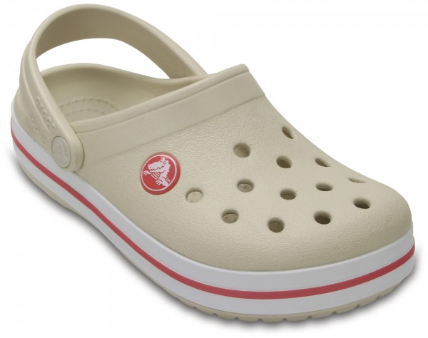 Crocband Clog Kids Stucco / Melone Croslite