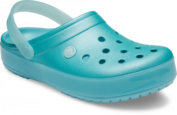 Crocband Ice Pop Clog Ice Blau Croslite