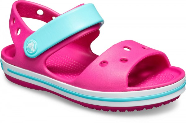 Crocband Sandal Kids Candy Pink / Pool Croslite