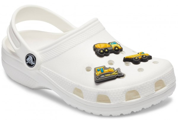 Crocs Jibbitz Construction Vehicle 3-Pack Gummi