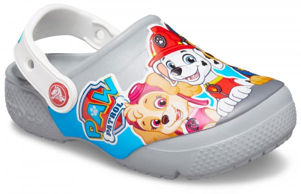 FunLab Paw Patrol Clog Kids Light Grau Croslite