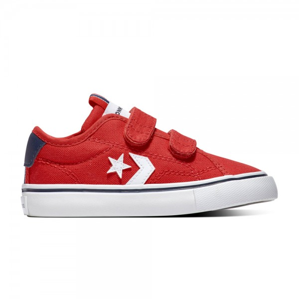 Converse Star Replay 2v Kids - Ox - University Rot / Obsidian / Weiß Segeltuch