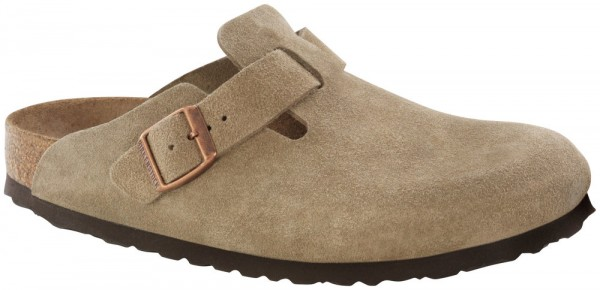 Boston Taupe Weichbettung Veloursleder