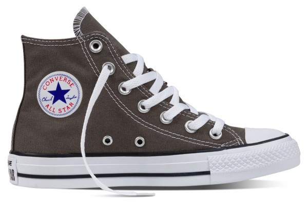 Chuck Taylor All Star Hi Charcoal Segeltuch