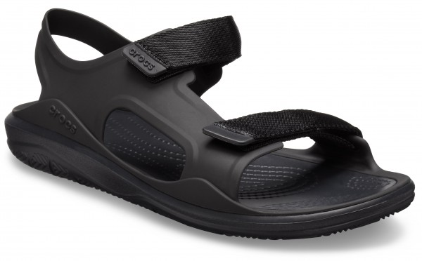 Swiftwater Expedition Sandal Women Schwarz / Schwarz Croslite