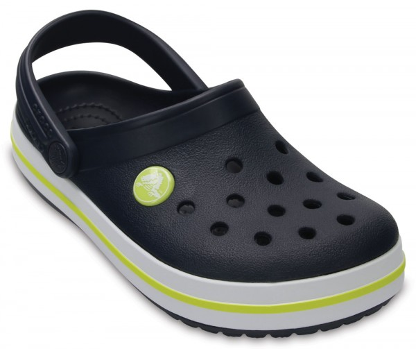 Crocband Clog Kids Navy / Citrus Croslite