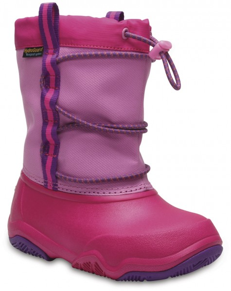 Swiftwater Waterproof Boot Kids Party Pink / Candy Pink Croslite