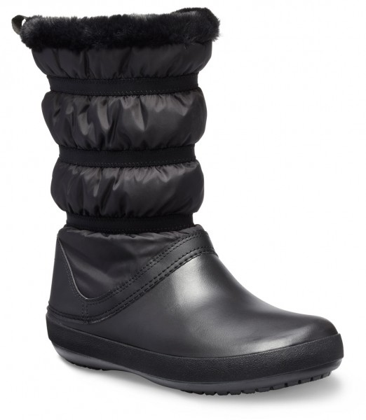 Crocband Winter Boot Women Schwarz / Schwarz Croslite