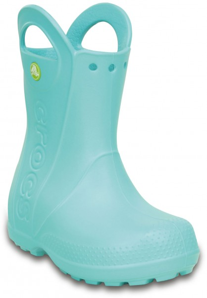 Handle It Rain Boot Kids Ice Blau Croslite
