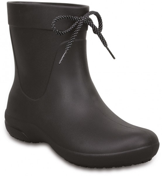 Freesail Shorty Rainboot Schwarz Croslite