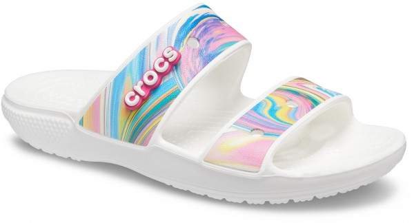 Classic Crocs Out Of This World Sandal Multi / Weiß Croslite
