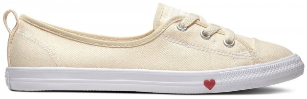 Chuck Taylor All Star Ballet Lace Natural Ivory Textil