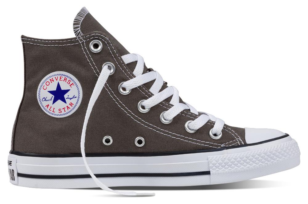 Converse Chuck Taylor All Star Hi Charcoal Segeltuch, Weite: normal Segeltuch
