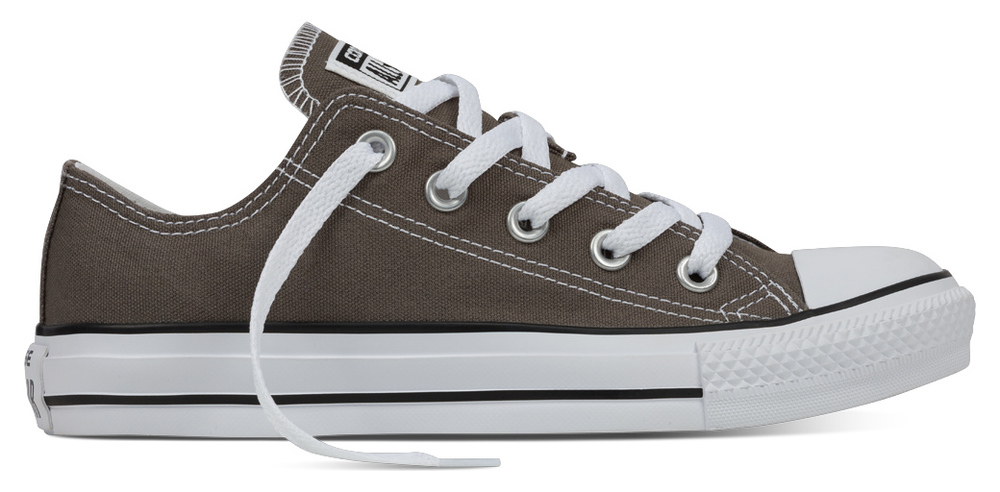 Converse Chuck Taylor All Star normal Ox CHARCOAL Segeltuch, Weite: normal Star Segeltuch 1e3232
