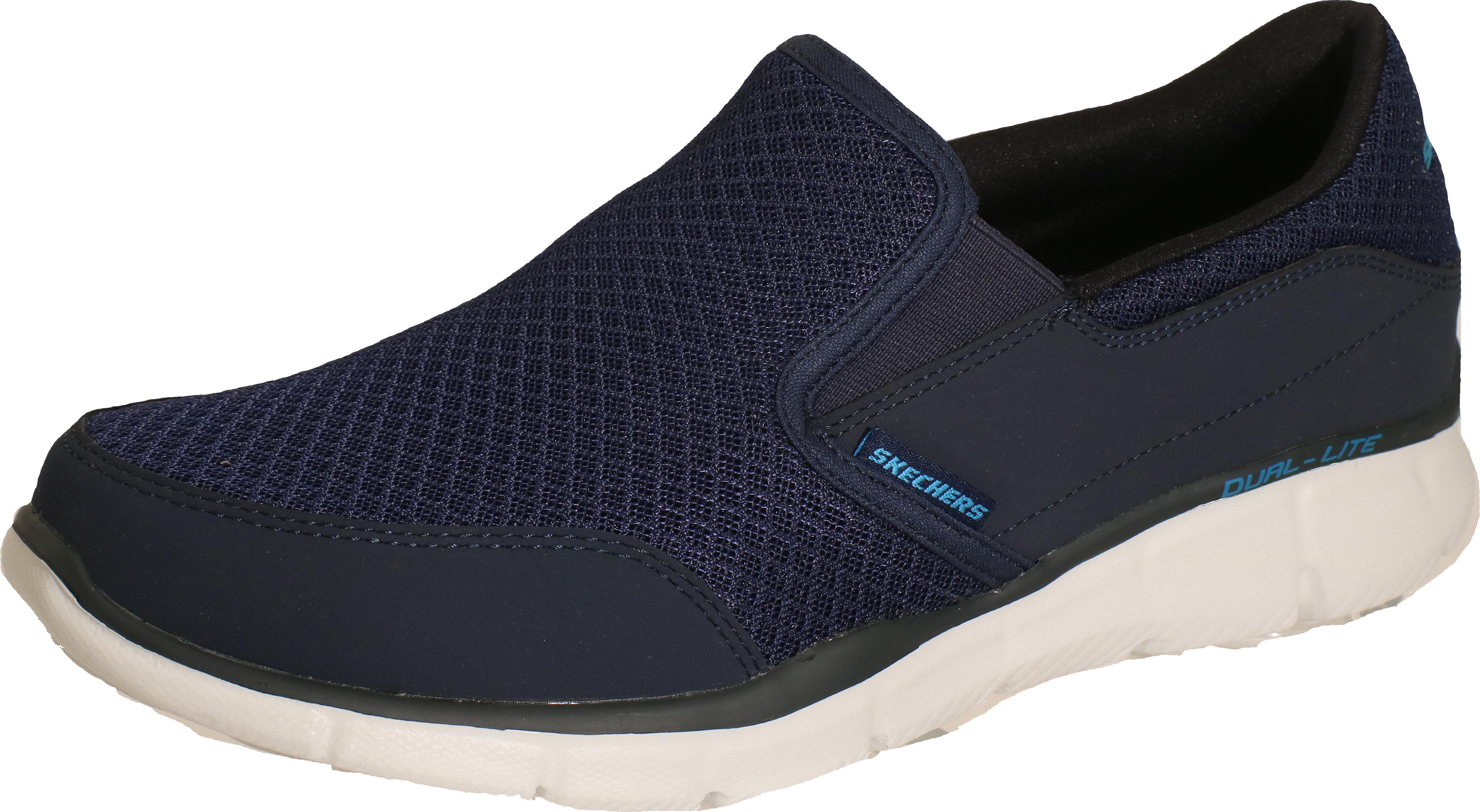 Skechers Equalizer - Persistent Navy Textil, Weite: normal Textil