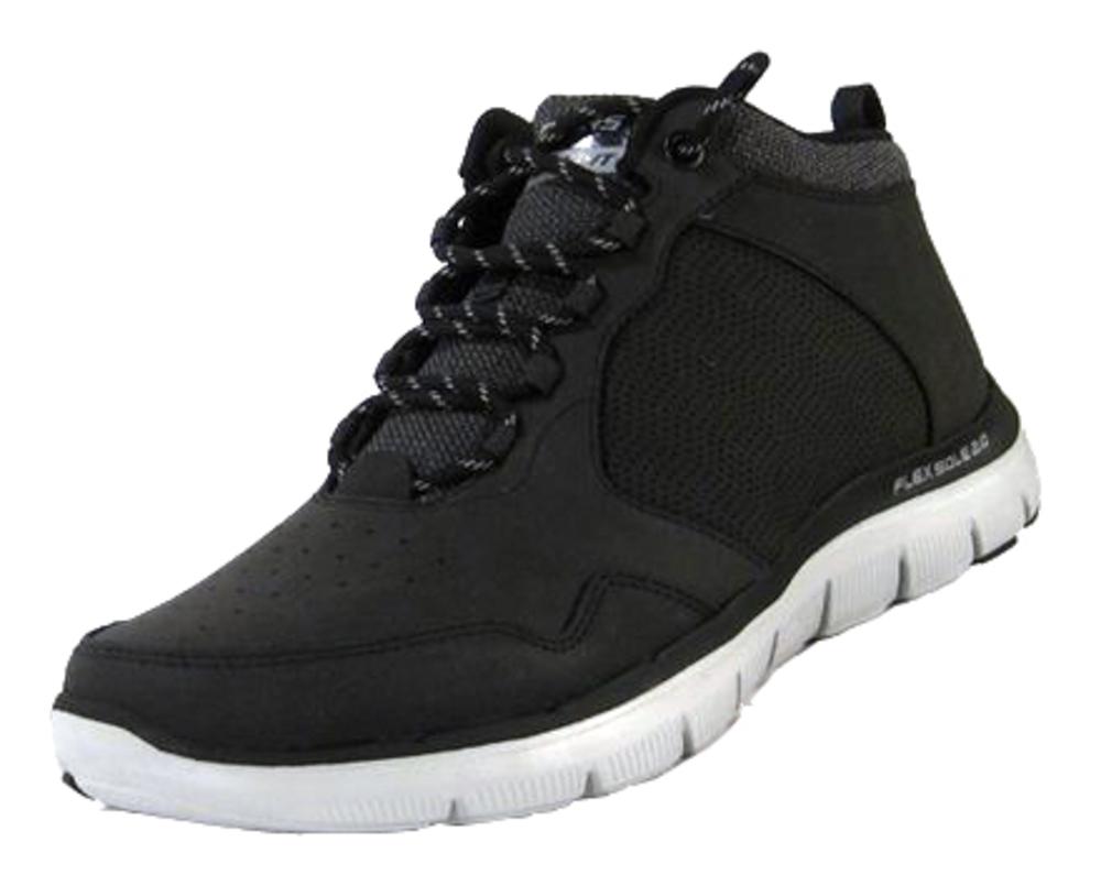 Skechers Flex Flex Flex Advantage 2.0 en cuir noir, largeur: Normal Cuir 5780f2