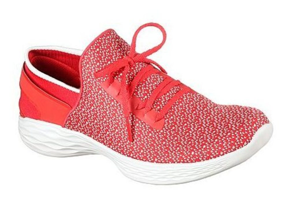 Skechers You - Inspire normal - Rot Textil, Weite: normal Inspire Textil 631cde