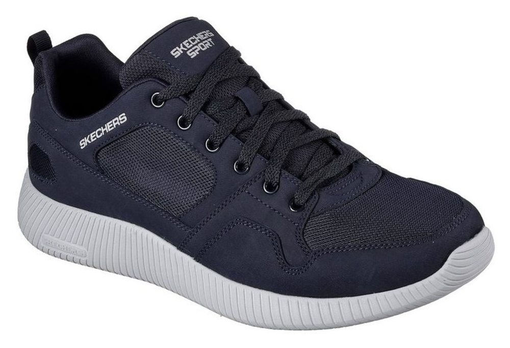 Skechers Depth Navy Charge - Eaddy - Navy Depth Leder, Weite: normal Leder ec9f0b