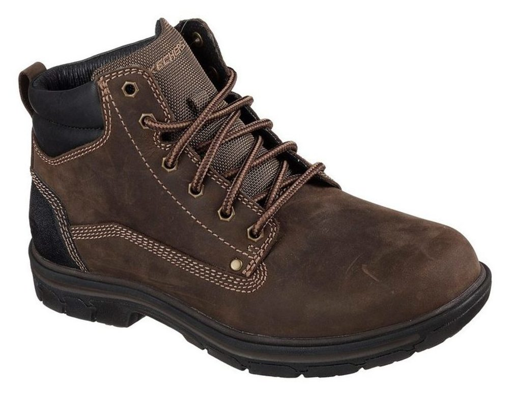 Skechers Segment - Weite: Garnet - Chocolate Leder, Weite: - normal Leder 72a8bb