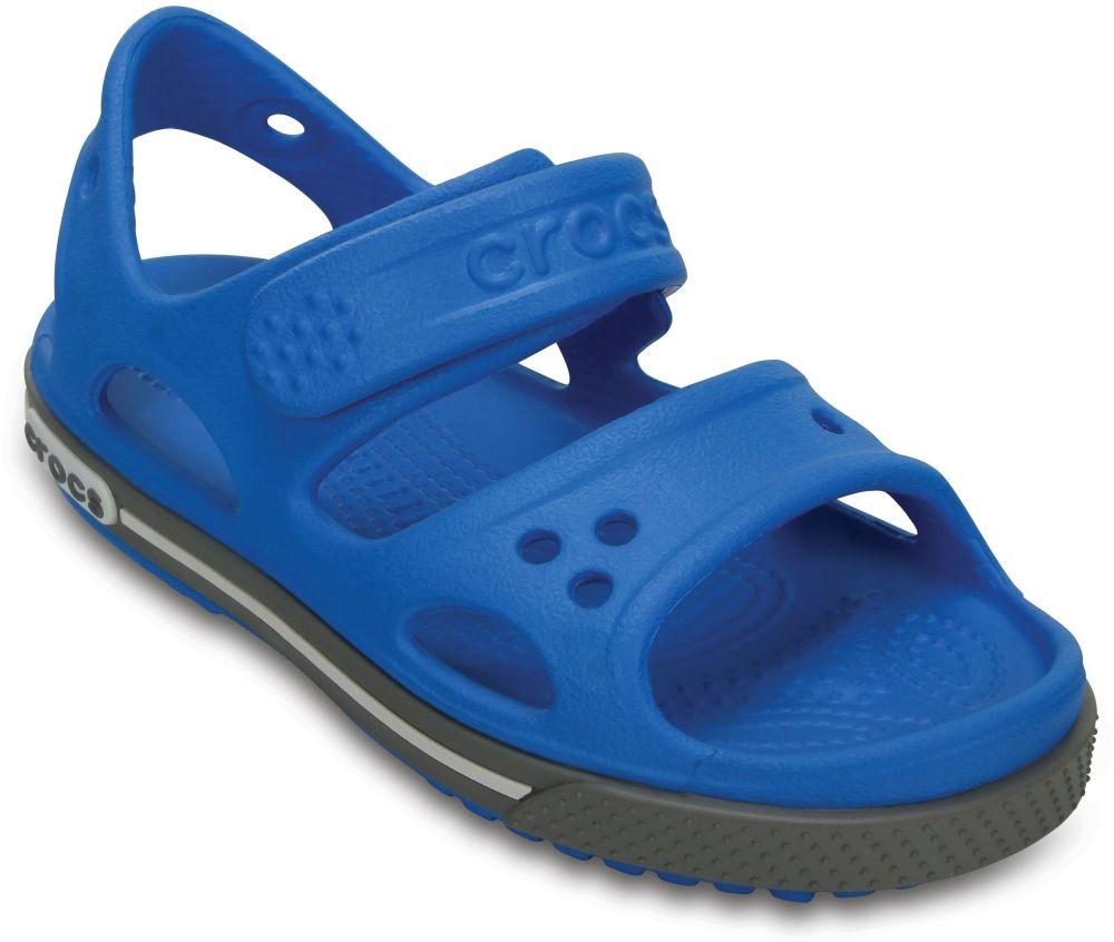 crocs Crocband II Sandal Ocean / Smoke Croslite, Weite: normal Croslite