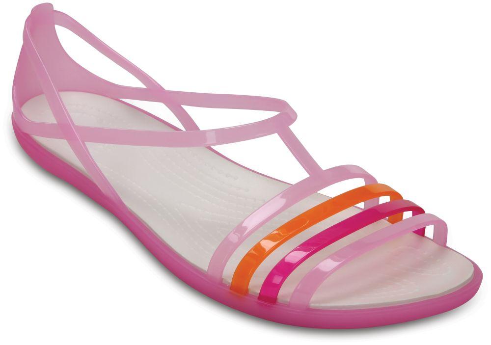 crocs-Isabella-Sandal-Carnation-Weiss-Croslite-Weite-normal-Croslite