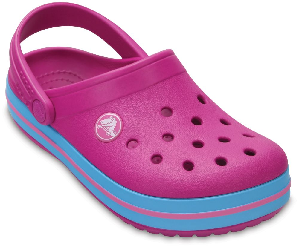 crocs Crocband Clog Kids Vibrant Violet Croslite, Weite: normal Croslite