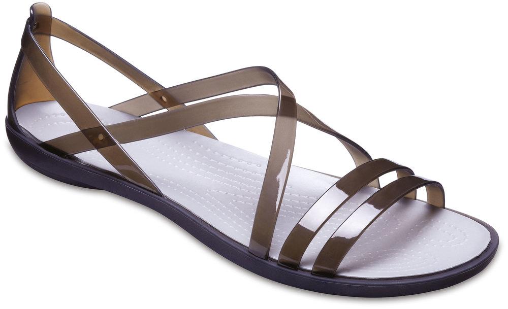 Crocs Crocs Crocs Isabella Strappy Sandal WoHommes  Noir Croslite, largeur: normal Croslite a8844a